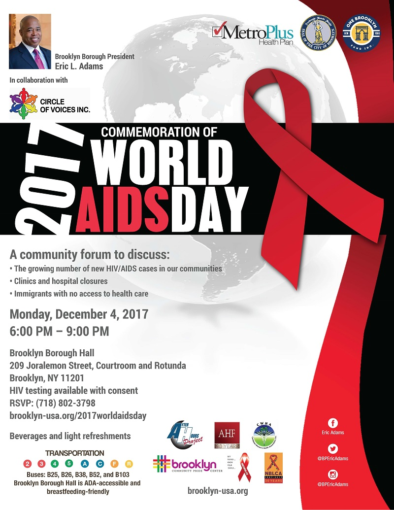 2017 Commemoration of World AIDS Day