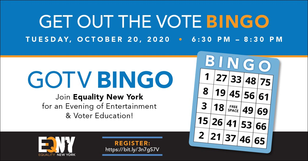 Get Out the Vote Bingo