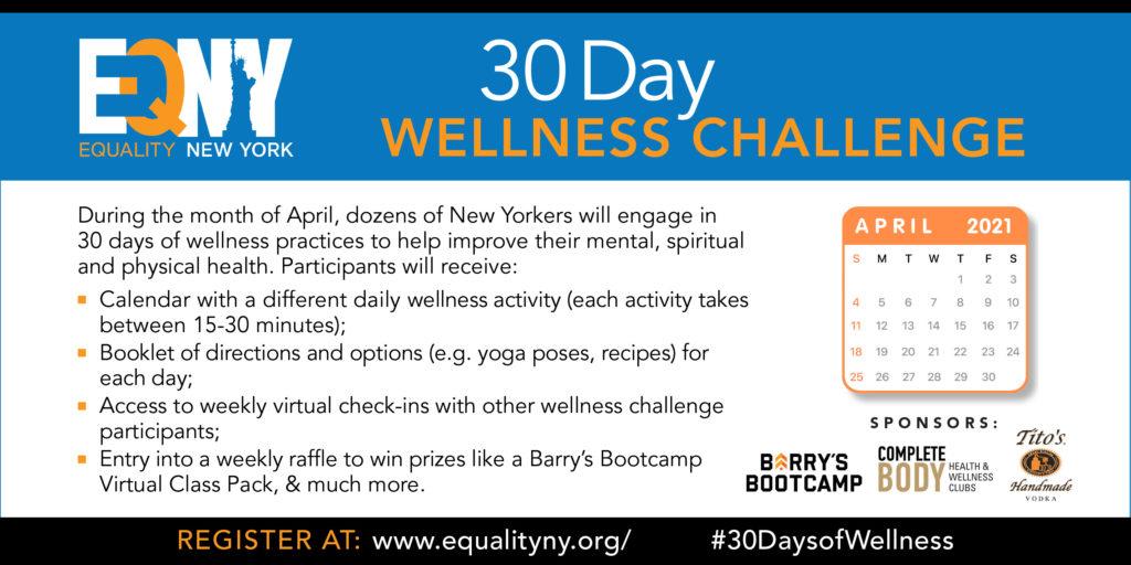 EQNY'S 30-Day Wellness Challenge