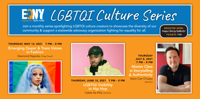 EQNY Launches LGBTQI Culture Series